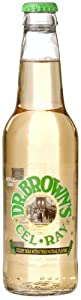 """Dr. Brown's CEL-RAY LONGNECK BOTTLES -  """"celery tonic dare to be different"""", 12-Ounce Glass Bottle (Pack of 12)"""