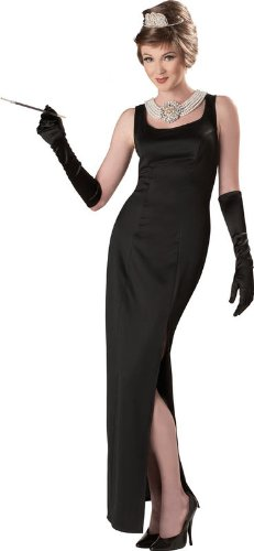 California Costumes Women's Holly Golightly In Breakfast At Tiffany'S Costume