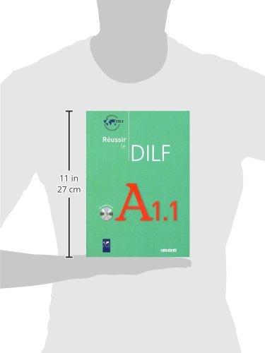 Libro REUSSIR LE DILF A1-1 LIVRE + CD di