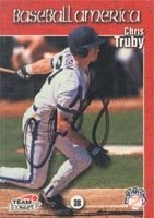 Chris Truby New Orleans Zephyrs - Astros Affiliate 1999 Team Best Autographed Hand... by Hall of Fame Memorabilia