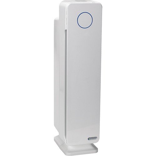 GermGuardian AC5350W Elite 4-in-1 True HEPA Air Purifier System with UV Sanitizer and Odor Reduction, 28-Inch Digital Tower