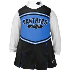 Carolina Panthers Reebok Infant Cheerleader Dress (12 Month) at Amazon.com