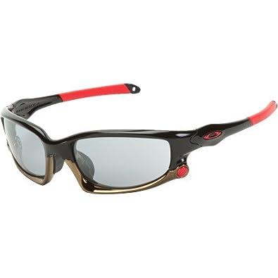 Oakley Men's Split Jacket Asian Fit Sunglasses Polished Black/Slate Iridium