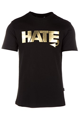 Love Moschino t-shirt maglia maniche corte girocollo uomo nero EU M (UK 38) M 4 725 03 M 3671 C7