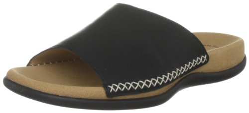Gabor Women's Eagle Black Open Toe Flats 43.705.27 3 UK