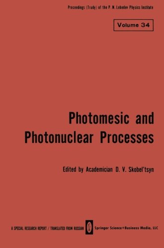 Photomesic and Photonuclear Processes (The Lebedev Physics Institute Series) PDF