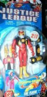Buy Low Price Mattel Justice League Morph Gear Flash Figure (B000OZDG9I)