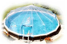 30' Above Ground Swimming Pool Solar Sun Dome Cover Heater Sundome Panel