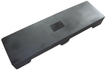 "Forte 8001791 Front Case Merchandiser, 48"" Length x 14"" Width x 5"" Height, Black"