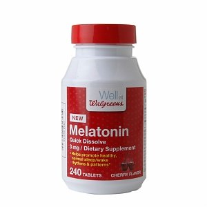 Walgreens Mélatonine 3mg, Dissoudre rapide