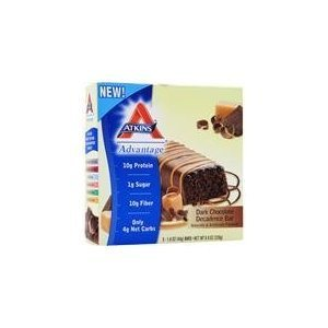 Atkins Advantage Caramel Chocolate Nut Roll 12 Bars 1.6oz