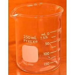 Branson Glass Beaker 250 ml Model A250
