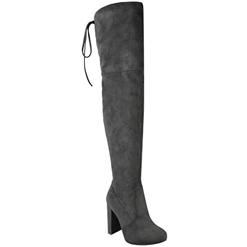 fashion-thirsty-womens-thigh-high-boots-over-the-knee-party-stretch-block-mid-heel-size-8