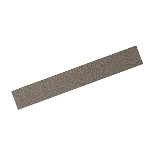 "Tapecase 3M Cn3490 7.25"" X 1.25""-25 Gray Non-Woven Conductive Fabric Tape, 1.25"" Length, 7.25"" Width, Rectangles (Pack Of 25)"