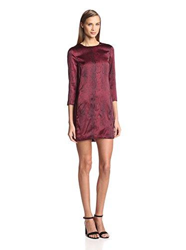 Nina Ricci Women's Python Print Tunic Dress