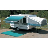 RV Awning Camp Out Camper Pop Up Trailer Vinyl Bag Teal 11