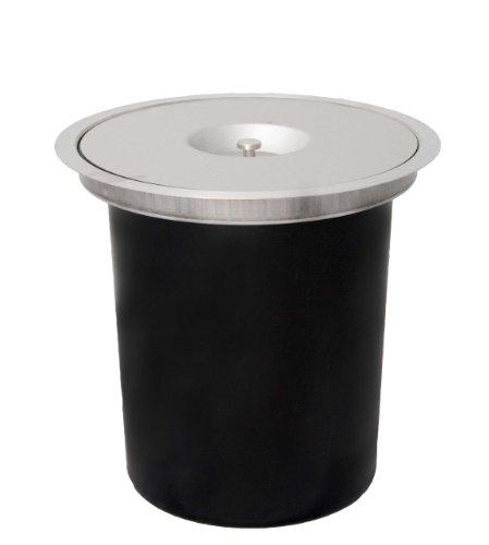 scies lectriques wesco 06010047 poubelle ergomaster pour plan de travail 11 l. Black Bedroom Furniture Sets. Home Design Ideas
