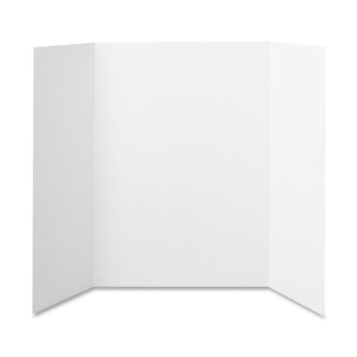 Elmers 730205 Project Board Display, Tri-Fold Board, 36 in.x48 in., White (Foam Presentation Board compare prices)