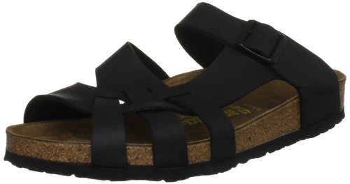 Birkenstock Sandals ''Pisa'' from Birko-Flor in Black 41.0 E