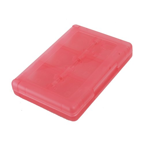 WantMall New 28 In 1 Game Card Case Holder Plastic Cartridge Box for Nintendo 3DS & XL Pink