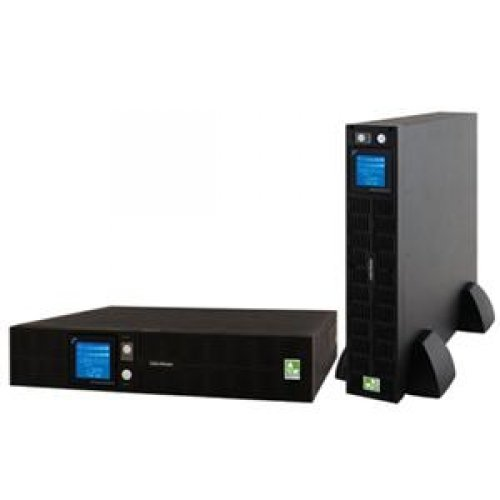 CyberPower Systems Smart App Sinewave 1500VA UPS - 2U Rackmount Tower, 8 Outlets, 1,780 Joules, 1,000 Watts, 10 ft. Cord Length, Full AVR Boost, Multi-function LCD Display (PR1500LCDRT2U)