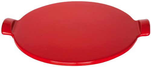 Emile Henry Flame Top Pizza Stone, Red
