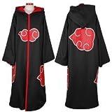 Japanese Anime costumes cosplay costumes NARUTO Akatsuki Ninja Uniform / Cloak,Size L