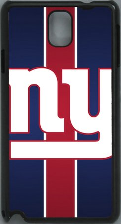 $$  NFL Simple New York Giants PC Hard Shell Black Skin Cover Case for Samsung Galaxy Note 3 N9000 by Qinchao Sports #86