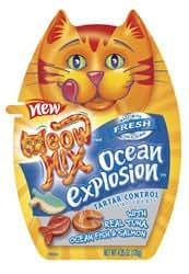Meow Mix Tartar Control Ocean Explosion Cat Treats (2.1-oz pouch)