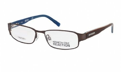 kenneth-cole-reaction-montura-gafas-de-ver-kc0716-048-marron-brillante-53mm