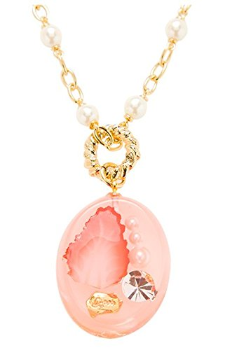 [Q-pot. Strawberry Jerry Necklace Fashion Jewelry Accessories New From Japan] (Vintage Costume Jewelry Images)