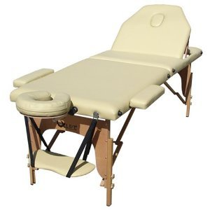 Brand NEW 2011 Luxury Portable Qlive Massage Table - Beige with Carrying Bag