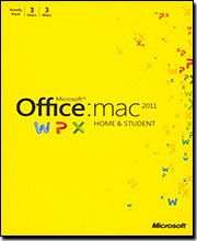 Office for Mac Home &amp; Student 2011 - 1 Pack [Old Version]