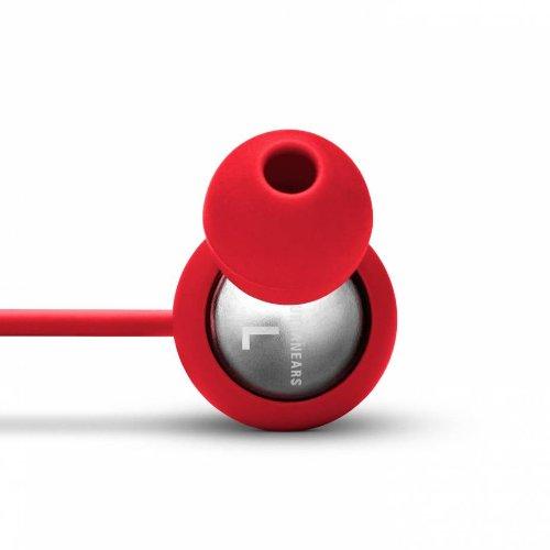 Urbanears Kransen Tomato Red Earphones Earbuds Headphones Mic Remote 04090115