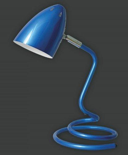 """Peppige Schreibtischleuchte """"Swing"""" blau"""