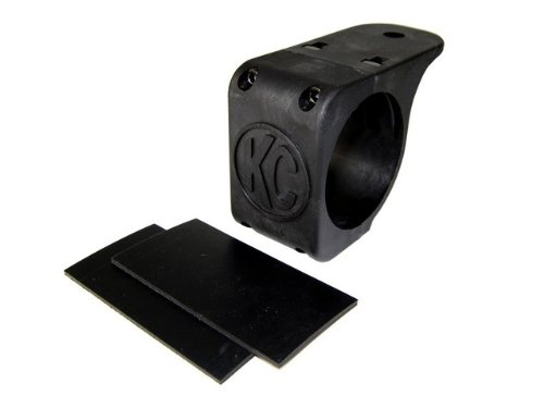 "Kc Hilites 7309 Tube Clamp Mount Bracket For 2.75"" To 3"" Diameter Round Light Bars And Roof Racks"