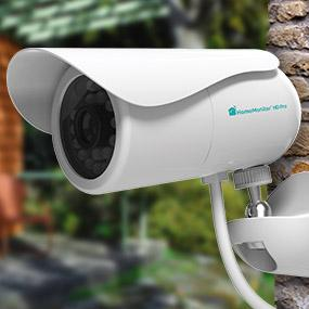 Y-cam HomeMonitor HD Pro Outdoor Wireless Surveillance Camera 720p with Free Online Recording ...