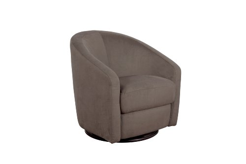 babyletto Madison Swivel Glider, Slate - 1