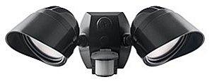 24 Watt - Led - Bullet Security Flood Light - 180 Deg. Motion Sensor - 4000K Cool White - 120 Volt - Bronze Finish - Rab Smsbullet2X12Na