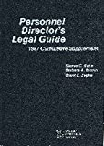 img - for Personnel director's legal guide: 1987 cumulative supplement book / textbook / text book