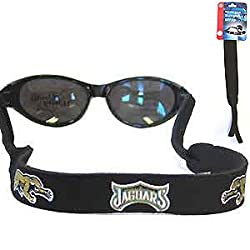 Jacksonville Jaguars Neoprene Sunglass Strap - NFL Football Fan Shop Sports Team Merchandise