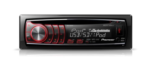 Pioneer DEH-6300SD CD/MP3 Car Stereo, Built in SD Card - New 2011