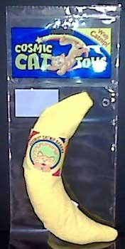 Cosmic Catnip Banana Cat Toy