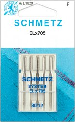 Purchase Euro-Notions Universal Serger Needles: Size 12/80, 5-Pack: