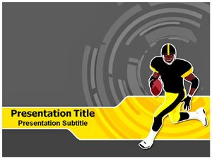 American Football Template | Sports Powerpoint Template | Powerpoint Templates for American Football | Football Powerpoint Background