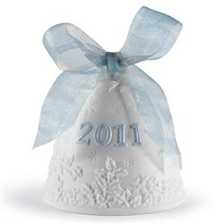 #!Cheap Lladro Annual Edition Christmas Bell, 2011