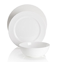 12 Piece Autograph Nova Fine Bone China Dining Set