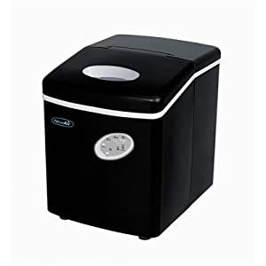 Air AI-100BK 28-Pound Portable Ice Maker, Black from NewAir