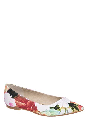 Rebel Low Heel Pointed Toe Flat