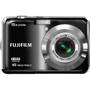 Fujifilm FinePix AX550 16 Megapixel Compact Camera - Black